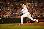 Baltimore, MD- May 15: Orioles pitcher Wei-Yin Chen during the New York Yankees v Baltimore Orioles  at Oriole Park at Camden Yards in Baltimore, MD on 05/15/12. (Ryan Lasek/ Eclipse Sportswire)