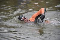 ZWEMMEN: FRYSLÂN: 19-08-2018, Elfstedenzwemtocht, Maarten van der Weijden, Witmarsum, ©foto Martin de Jong