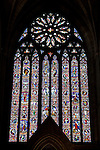 United Kingdom, England, Worcestershire, Worcester: West window of Worcester Cathedral | Grossbritannien, England, Worcestershire, Worcester: Kirchenfenster der Worcester Cathedral