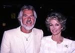Kenny Rogers and Marianne Rogers on Juner 1, 1990 in New York City