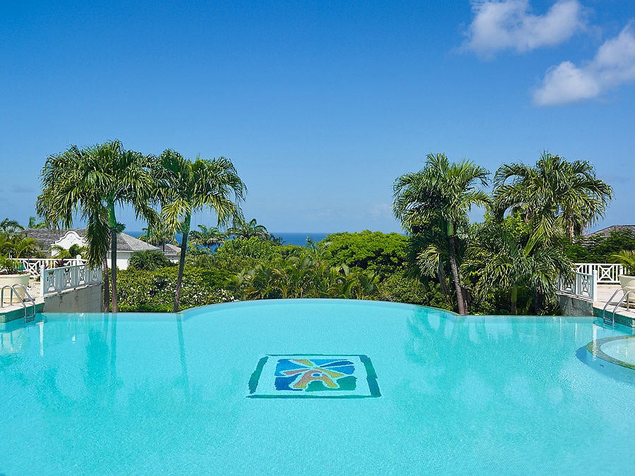 Sugar Hill Clubhouse pool, St. James, Barbados