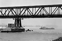 - Switzerland / Germany, the Rhine river near Basel town<br /> <br /> - Svizzera / Germania, il fiume Reno nei pressi della città di Basilea