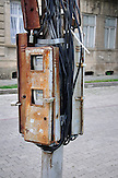 Stromzähler in Kutaissi. / electric meter in Kutaisi.