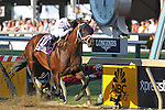 May 15, 2015: Commissioner, Javier Castellan up, wins the 45th running of the Sagamore Racing Pimlico Special at Pimlico Race Course in Baltimore, MD. Trainer is Todd Pletcher; owner is WinStar Farm. Joan Fairman Kanes/ESW/CSM