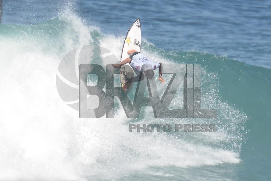 SAQUAREMA, RJ, 16.05.2018 - WSL-RJ - Ezekiel Law, no Oi Rio Pro etapa da WSL na Praia de Itaúna, Saquarema, Rio de Janeiro nesta quarta-feira, 16.(Foto: Clever Felix/Brazil Photo Press)