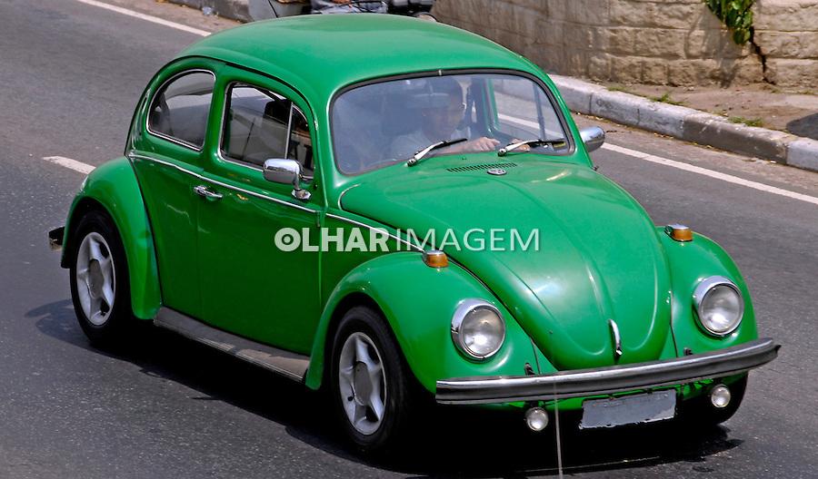 Carro Volkswagem.  Foto de Juca Martins