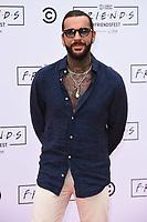 Pete Wicks<br /> arriving for FriendsFest 2021, Clapham Common, London.<br /> <br /> ©Ash Knotek  D3567 24/06/2021