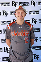 Will Johnston (12) of Keller High School in Keller, Texas during the Baseball Factory All-America Pre-Season Tournament, powered by Under Armour, on January 12, 2018 at Sloan Park Complex in Mesa, Arizona.  (Mike Janes/Four Seam Images)