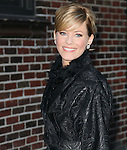 """New York, Jan. 16, 2012: Actress Elizabeth Banks visits """"Late Show with David Letterman"""" at Ed Sullivan Theatre on January 16, 2012 in New York City."""