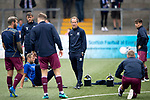 Forfar v St Johnstone…28.07.18…  Station Park    Betfred Cup<br />The saints players warm up ahead of kick off led by first team coach Alec Cleland<br />Picture by Graeme Hart. <br />Copyright Perthshire Picture Agency<br />Tel: 01738 623350  Mobile: 07990 594431