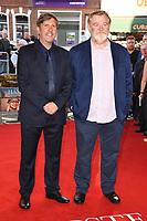"director, Joel Hopkins and Brendan Gleeson<br /> at the ""Hampstead"" premiere, Everyman Hampstead cinema, London. <br /> <br /> <br /> ©Ash Knotek  D3280  14/06/2017"