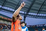Jeju United Forward Magno Da Cruz getting into the field during the AFC Champions League 2017 Group H match Between Jeju United FC (KOR) vs Gamba Osaka (JPN) at the Jeju World Cup Stadium on 09 May 2017 in Jeju, South Korea. Photo by Marcio Rodrigo Machado / Power Sport Images