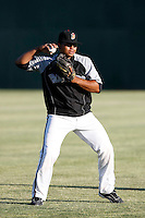 Wilin Rosario -  Modesto Nuts .Photo by:  Bill Mitchell/Four Seam Images