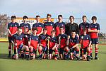 Tasman Team Photo. Men's U18 Hockey Nationals, Gallagher Hockey Centre, Hamilton. Sunday 11 July 2021. Photo: Simon Watts/www.bwmedia.co.nz