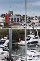 Royaume-Uni, îles Anglo-Normandes, île de Guernesey, Saint-Samson : le port// United Kingdom, Channel Islands, Guernsey island, St-Samson: the harbour