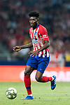 Thomas Teye Partey of Atletico de Madrid in action during their International Champions Cup Europe 2018 match between Atletico de Madrid and FC Internazionale at Wanda Metropolitano on 11 August 2018, in Madrid, Spain. Photo by Diego Souto / Power Sport Images