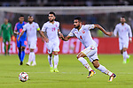 Sayed Dhiya Saeed of Bahrain runs with the ball during the AFC Asian Cup UAE 2019 Group A match between India (IND) and Bahrain (BHR) at Sharjah Stadium on 14 January 2019 in Sharjah, United Arab Emirates. Photo by Marcio Rodrigo Machado / Power Sport Images