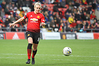 Mollie Green (Manchester United Women) during the English Womens Championship match between Manchester United Women and Leicester City Women at Leigh Sports Village, Leigh, England on 10 March 2019. Photo by James Gill / PRiME Media Images.