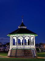 Gazebo, Ocean Park, Oak Bluffs, Martha's Vineyard, Massachusetts, USA
