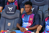 26th September 2021; Nou Camp, Barcelona, Spain: La Liga football, FC Barcelona versus Levante:  Ansu Fati on the bench