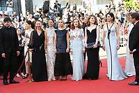 EMMANUELLE BERCOT BERNIE BEJO ELODIE BOUCHEZ ISABELLE PUPPERT EMILIE DEQUESNE JULIETTE BINOCHE 70th Anniversary Event - The 70th Annual Cannes Film Festival at Palais des Festivals on May 23, 2017 in Cannes, France