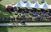 """riding the cobbles next to a fan-zone. <br /> <br /> Antwerp Port Epic 2018 (formerly """"Schaal Sels"""")<br /> One Day Race: Antwerp > Antwerp (207km of which 32km are cobbles & 30km is gravel/off-road!)"""