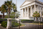 The U.S. Custom House in downtown Charleston, SC, a National Historic Landmark district.