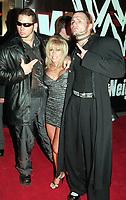 Matt Hardy Terri Runnels Jeff Hardy 2000                                                        By John Barrett/PHOTOlink