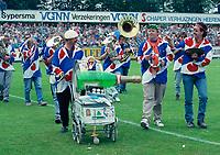 VOETBAL: HEERENVEEN, 1990, SC Heerenveen Promotiewedstrijd naar de eredivisie, ©foto Martin de Jong