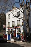 The Grenadier Public house Belgravia,  central London SW1. England.