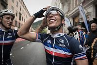 Benoit Cosnefroy (FRA/AG2R-La Mondiale) is the new U23 World Champion<br /> <br /> Men Under-23 Road Race<br /> <br /> UCI 2017 Road World Championships - Bergen/Norway
