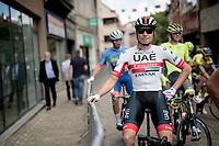 Jasper Philipsen (BEL/UAE - Emirates) at the race start<br /> <br /> Dwars door het Hageland 2019 (1.1)<br /> 1 day race from Aarschot to Diest (BEL/204km)<br /> <br /> ©kramon
