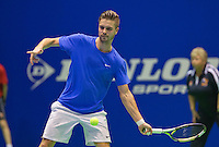 Rotterdam, Netherlands, December 17, 2015,  Topsport Centrum, Lotto NK Tennis, Yannick Zenden (NED)<br /> Photo: Tennisimages/Henk Koster