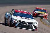 #18: Kyle Busch, Joe Gibbs Racing, Toyota Camry Sport Clips, #19: Martin Truex Jr., Joe Gibbs Racing, Toyota Camry Bass Pro Shops
