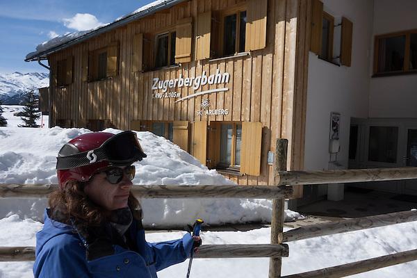 Zugerbergbahn Chairlift, Zurs Ski Area, St Anton, Austria