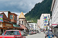 Downtown Juneau , Alaska, USA