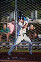 Maxwell Clark (42) during the WWBA World Championship at Terry Park on October 10, 2020 in Fort Myers, Florida.  Maxwell Clark, a resident of Franklin, Indiana who attends Franklin Community High School, is committed to Vanderbilt.  (Mike Janes/Four Seam Images)