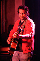 May 17, 2005 - Montreal  ,  Quebec, CANADA - Alexandre Belliard plays an intimate concert at Verre Bouteille bar.