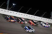 2017 NASCAR Monster Energy Cup - Can-Am Duels<br /> Daytona International Speedway, Daytona Beach, FL USA<br /> Thursday 23 February 2017<br /> Denny Hamlin, FedEx Express Toyota Camry Dale Earnhardt Jr<br /> World Copyright: Matthew T. Thacker/LAT Images<br /> ref: Digital Image 17DAY2mt1100