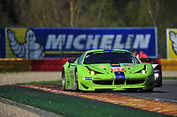 #57  KROHN RACING (USA) FERRARI F458   TRACY KROHN (USA) NICLAS JONSSON (SEW) MAURIZIO MEDIANI (ITA)