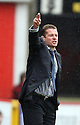 Stevenage manager Graham Westley. Stevenage v Yeovil Town- npower League 1 -  Lamex Stadium, Stevenage - 13th April, 2013. © Kevin Coleman 2013.. . . . .. . . .  . . .  .