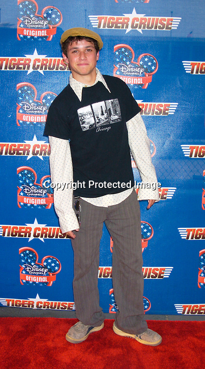 """Ricky Ullman ..at the New York Premiere of """" Tiger Cruise"""" on August 3, 2004 onboard The Intrepid. The movie is a Disney Channel movie . ..Photo by Robin Platzer, Twin Images"""