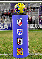 ORLANDO, FL - MARCH 05: SHE BELIEVES CUP during a game between England and USWNT at Exploria Stadium on March 05, 2020 in Orlando, Florida.