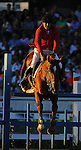 8 October 2010: Philippe Le Jeune (BEL) and Vigo D' Arsouilles compete during the Show Jumping Individual Championship Qualifiers in the World Equestrian Games in Lexington, Kentucky