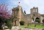 CYPRUS, North cyprus (turkish), Bellapais: mountain village with Abbey founded 1205 by Austin friars<br />