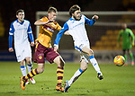 Motherwell v St Johnstone…06.02.18…  Fir Park…  SPFL<br />Murray Davidson and Andy Rose<br />Picture by Graeme Hart. <br />Copyright Perthshire Picture Agency<br />Tel: 01738 623350  Mobile: 07990 594431