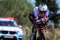 Portugese National Time Trial Champion José Goncalves (POR/Katusha Alpecin)<br /> <br /> Stage 13: ITT - Pau to Pau (27.2km)<br /> 106th Tour de France 2019 (2.UWT)<br /> <br /> ©kramon