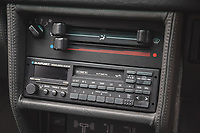 BNPS.co.uk (01202) 558833. <br /> Pic: SilverstoneAuctions/BNPS<br /> <br /> Pictured: 80's style stereo tape player. <br /> <br /> Fire up the price tag...<br /> <br /> This immaculate Audi Quattro got collectors of 'modern classic' cars all fired up - as it sold for a record-breaking price of £163,125.<br /> <br /> The iconic eighties motor was believed to be the last one ever manufactured by the German car giant when it rolled off the production line in 1991.<br /> <br /> The UR Quattro 20V has had just two owners in its 30 year life and has just 9,700 miles on the clock.<br /> <br /> As a result the pearly white vehicle proved highly desirable when it went under the hammer.