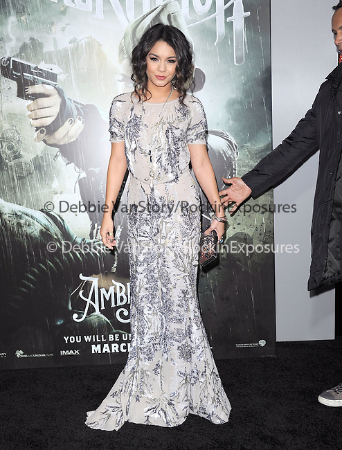 Vanessa Hudgens at The Warner Bros. Pictures World Premiere of Sucker Punch held at The Grauman's Chinese Theatre in Hollywood, California on March 23,2011                                                                               © 2010 Hollywood Press Agency
