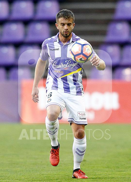 Real Valladolid's Balbi during La Liga Second Division match. March 11,2017. (ALTERPHOTOS/Acero)